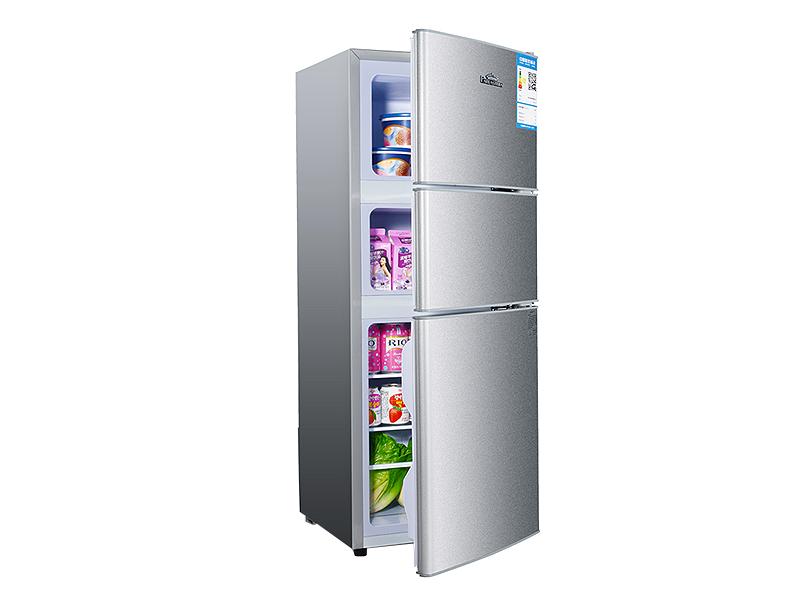 Refrigerador de gran capacidad con tres puertas