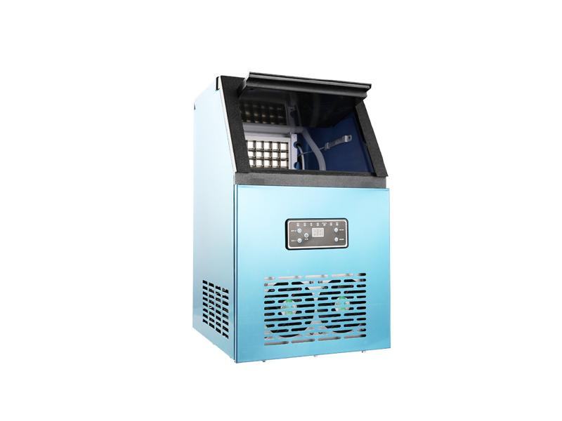 Máquina de hielo portátil comercial, máquina de cubitos de hielo